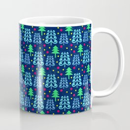 Christmas trees pattern Coffee Mug