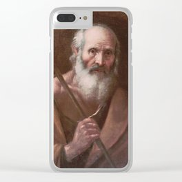 Joseph of Nazareth by Diego Velázquez Clear iPhone Case