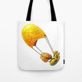 Golden Parachute Tote Bag