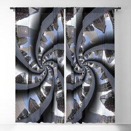 Spiral Downtown Providence Blackout Curtain