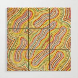 """glowworms"" Wood Wall Art"