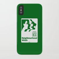 the neighbourhood iPhone & iPod Cases featuring Neighbourhood Witch by Crank Institute