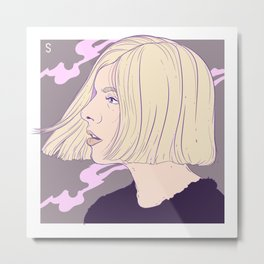 Aurora - Running with the Wolves Metal Print
