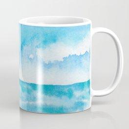 Dancing Turquoise Sky Coffee Mug