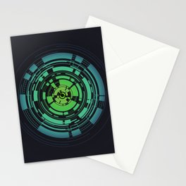 Circles II Stationery Cards