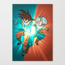 The Super Galick Kamehameha Canvas Print