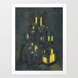 Gloria's House Art Print