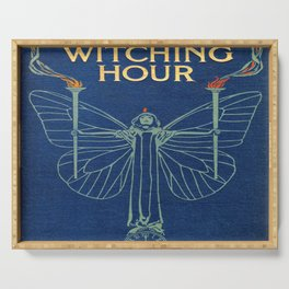 The Witching Hour Book Serving Tray