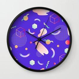 Geometric world Wall Clock