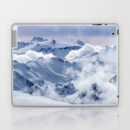 Snowy Mountains and Glaciers Laptop & iPad Skin