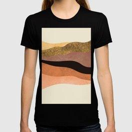 Minimalist Hand Painted Abstract Arts T-shirt
