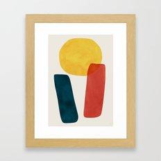 Strata Framed Art Print