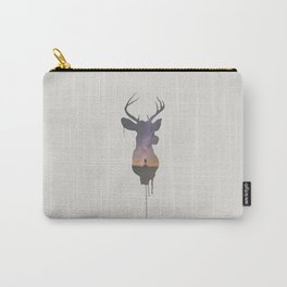 Deer Head V Carry-All Pouch