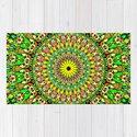 Floral Sun Garden Mandala by davidzydd