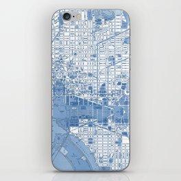 Washington DC Map iPhone Skin
