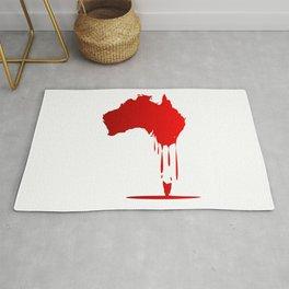 Australia Melting Down Rug