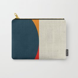 Geometric abstract / half circles Carry-All Pouch