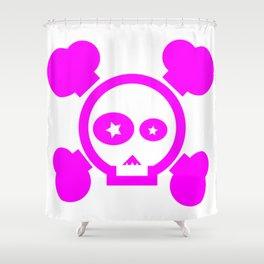 Skull Pop! Shower Curtain