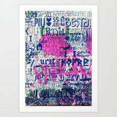 Ecce Gosta Art Print