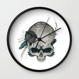 Skull Amazon Queen Wall Clock