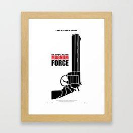 Magnum Force Framed Art Print