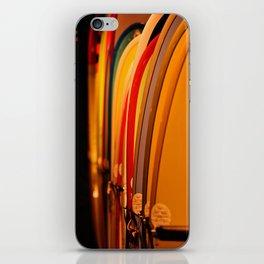 The Surfboard Line Up - Oahu, Hawaii iPhone Skin