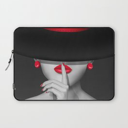 Keep quiet Laptop Sleeve