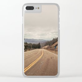 The Longest Road Clear iPhone Case