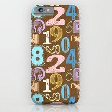 Numberology Slim Case iPhone 6s
