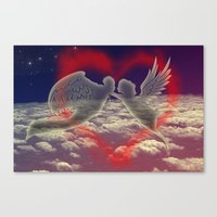 angels Canvas Prints featuring angels by JanUFotO