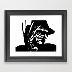 Freddy Krueger #1 Framed Art Print