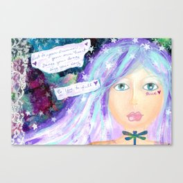 Be YOU to full - Thrive Canvas Print