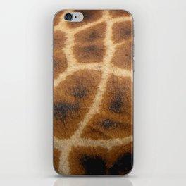 Giraffe Skin iPhone Skin