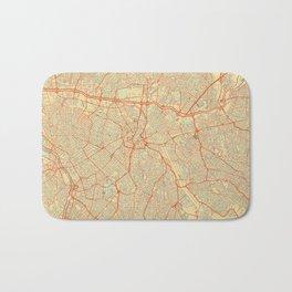 Sao Paulo Map Retro Bath Mat