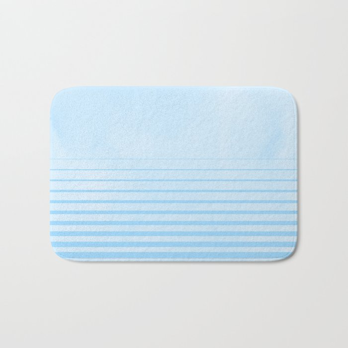 Sweet Life Collection Gradient Blue Raspberry Bath Mat