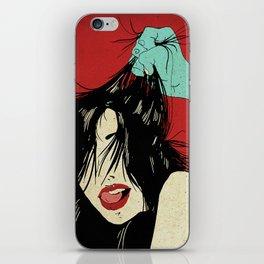 The girl I love... (The Weird Love) iPhone Skin