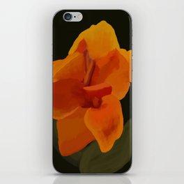 Canna Flowers iPhone Skin