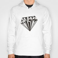diamond Hoodies featuring Diamond by Galitt