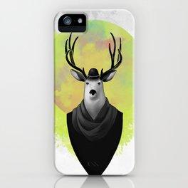 Gentledeer iPhone Case