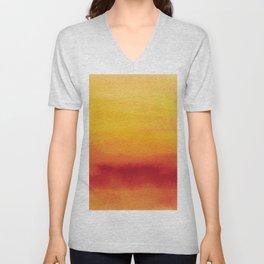 Abstract No. 185 Unisex V-Neck