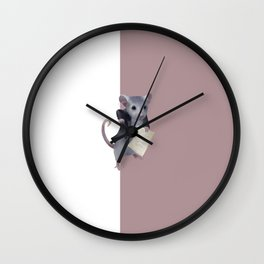 Mouse composer  Wall Clock