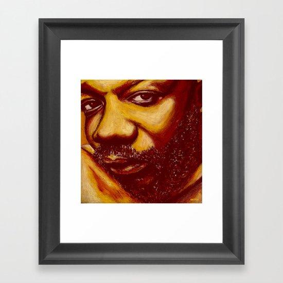 unique issac Framed Art Print