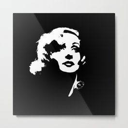 Carole Lombard Is Lovely Metal Print