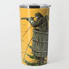 DISCOVERING PORTLAND OREGON (Orange) Travel Mug