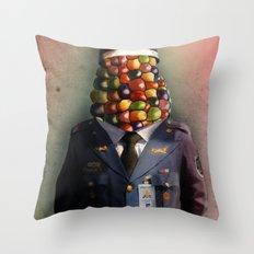CHAPA CHOCLO (policemen) Throw Pillow