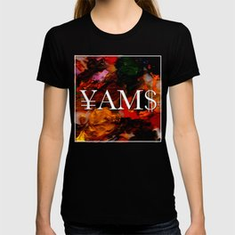 Abstract Yams T-shirt