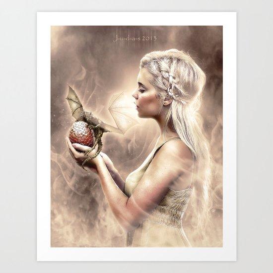 . : D a e n e r y S :. Art Print