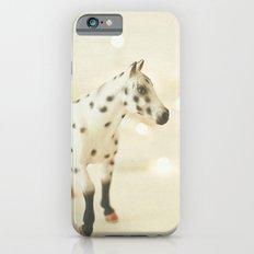 Horse in Winter iPhone 6s Slim Case