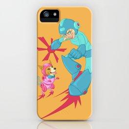 Speltöser - Mega Girl - Mega Man iPhone Case
