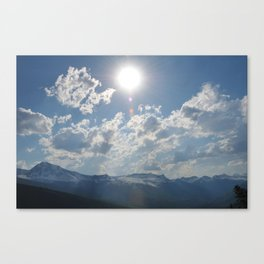Shine Down Canvas Print